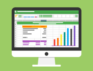 a animated image showing excel