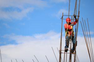 man on a construction job