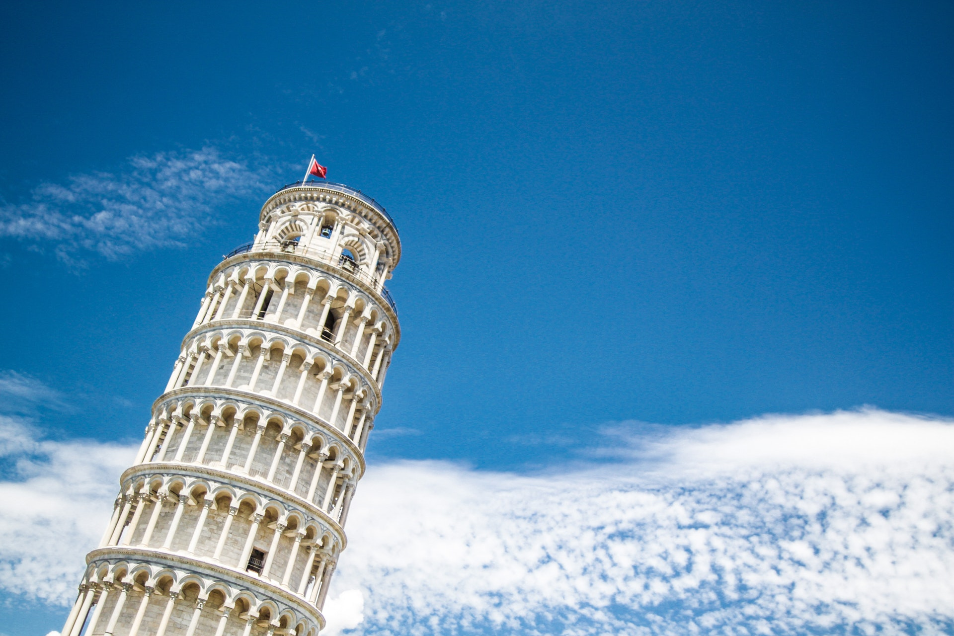 an image of leaning tower of pisa