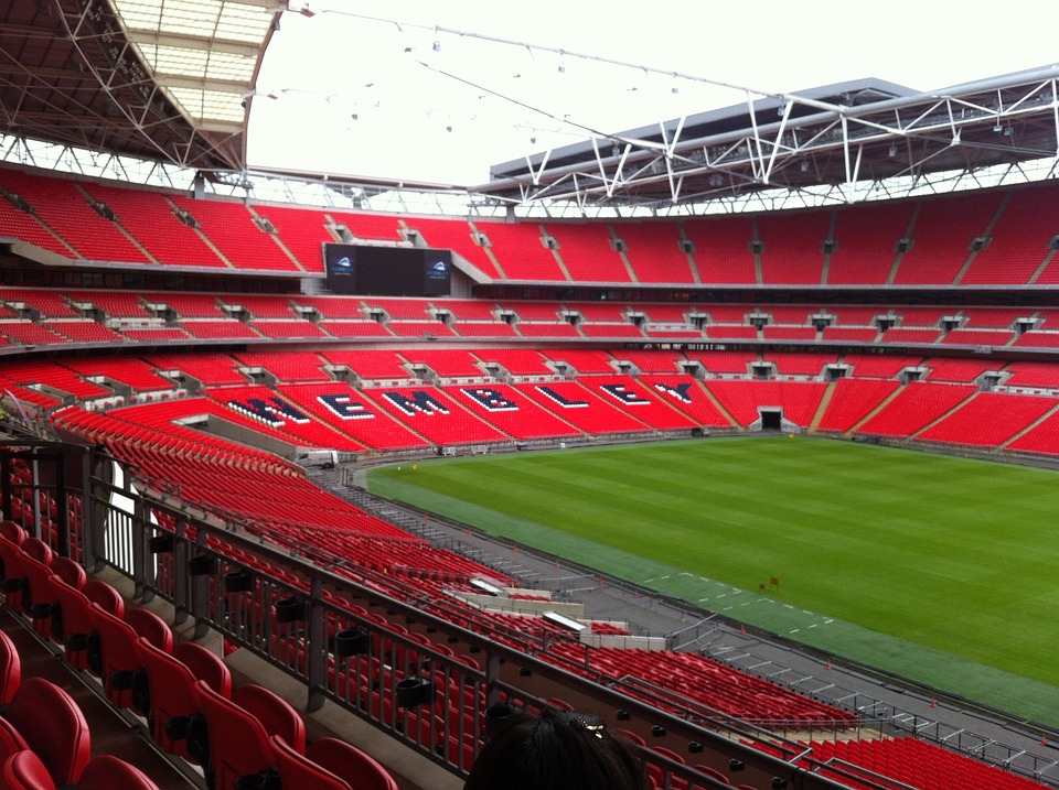 an image of wembley stadium